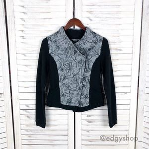 [Anthropologie] Knitted & Knotted Bomber Jacket
